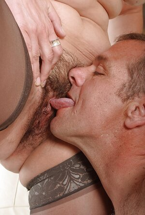 Temptress kisses her boyfriend and besides then he sniffs back hole before fooling around